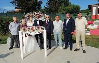Bu düğün Beykoz'a iyi geldi