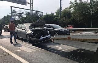 Beykoz Konakları önünde trafik kazası: 1 yaralı