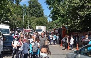 Tokatköy Şehit Adil Doğan İlkokulu'nda kaos