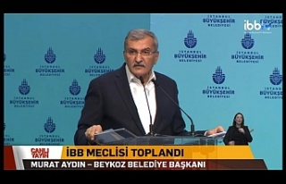 Başkan Murat Aydın'dan İBB Meclisi'nde...