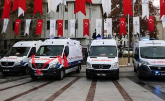 Yeni Ambulanslar Beykoz'da Göreve Hazır