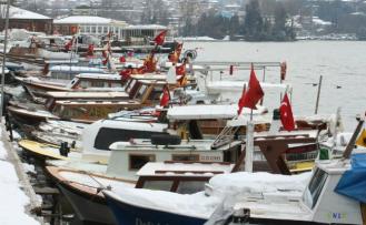Beykoz'da Kar Yağışı Başladı