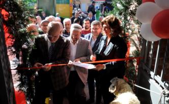 Tarihi Bahçeli Kahve Paşabahçe'de Açıldı