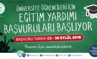 Beykoz Belediyesi'nden Öğrencilere Eğitim Yardımı