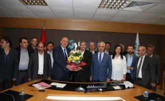Yöre Derneklerinden Murat Aydın'a Ziyaret