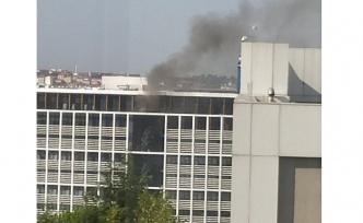 Medipol Üniversitesi'nde Yangın Çıktı