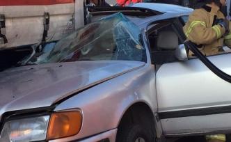 Çavuşbaşı'nda Trafik Kazası!
