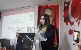 CHP'li Kadınlar EYLEM'e geçti