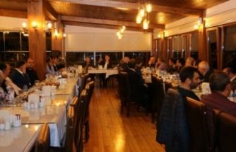 Başkan Murat Aydın Sahurda Okul Müdürlerini Konuk Etti