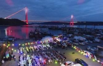 Beykozlular İftarlarını 3'ncü Köprüye Karşı Açtılar