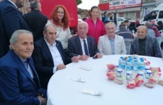 CHP Beykoz Çiğdem Mahallesi'nde İftar Verdi
