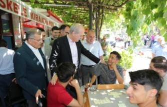 Numan Kurtulmuş ve Hasan Sert Beykoz'a Geldi