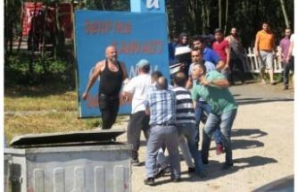 Riva'da Restoran Yandı! Kardeşler Birbirine Girdi