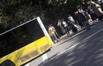 Beykozlular Vaniköy'de Yolda Kaldı