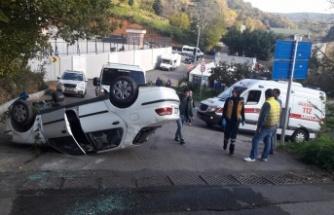 Tokatköy'deki Kaza Korkuttu