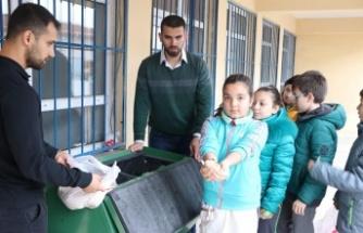 Beykozlu Çocuklar Geri Dönüşüm Uzmanı Oluyor
