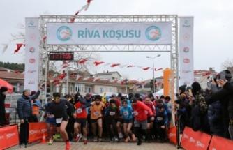 Türkiye'nin En Güzel Manzarasına Sahip Koşusu Riva'da Yapıldı
