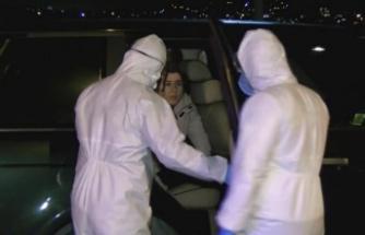 Kanlıca'da denize düşen otomobildeki kadın kurtarıldı