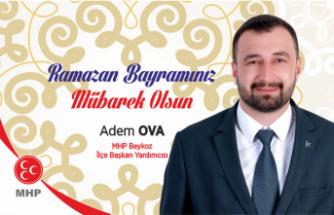 Adem Ova'dan Bayram Mesajı
