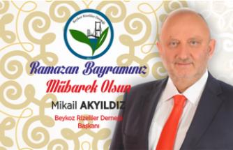 Mikail Akyıldız'dan Bayram Mesajı