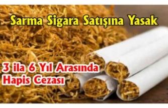 Sarma Sigara Kullananlara Kötü Haber