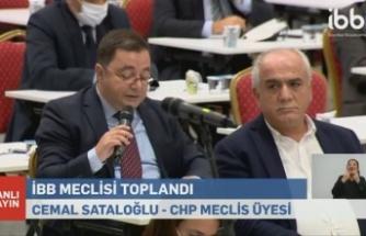 CHP'li Sataloğlu, İBB Meclisi'nde Riva Deresi'ni konuştu