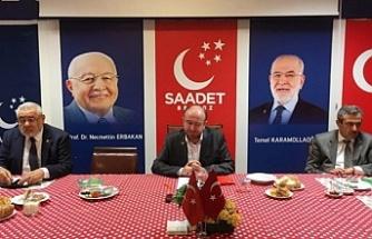 """Saadet Partisi İlçe Başkanlığı'ndan basın açıklaması : """"Yapılan büyük israfın belgesi"""""""