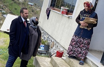 AK Parti Beykoz'dan şehit ailelerine vefa!