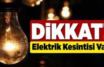 Beykoz'da iki günlük elektrik kesintisi
