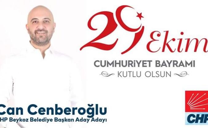 Can Çenberoğlu'ndan 29 Ekim Cumhuriyet Bayramı Mesajı