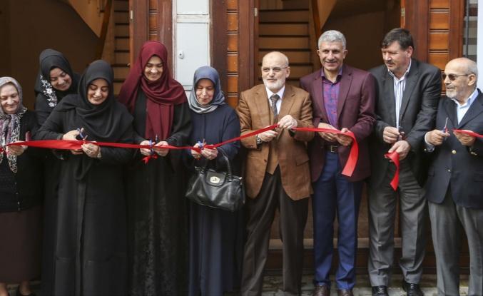 Beykoz'da Geleneksel İkiz Türk Evi Açıldı
