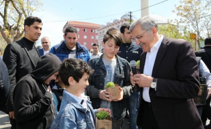 Beykoz'un Sokaklarını Fesleğen Kokusu Saracak