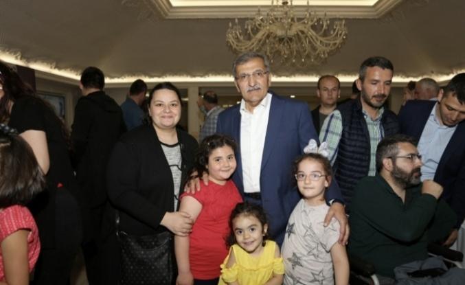 İlk İftarda Şehit ve Gazi Aileleri Ağırlandı