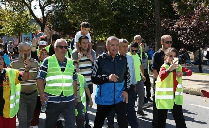 Beykoz 'Birlikte Yürüdü'