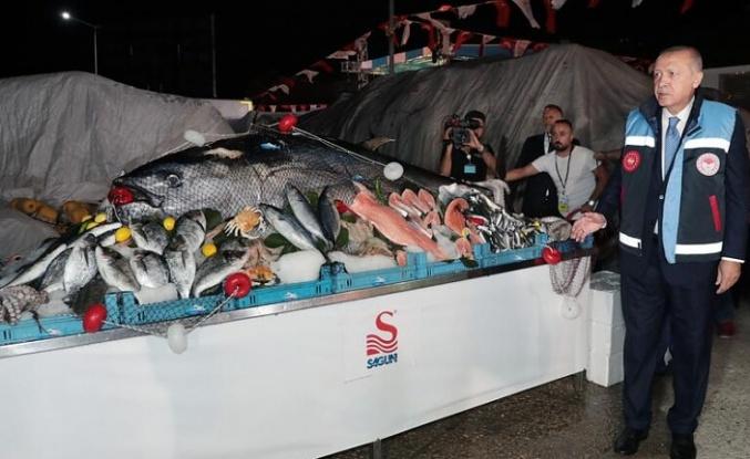 Cumhurbaşkanı Erdoğan Beykoz''da Balık Av Sezonu'nu Açtı
