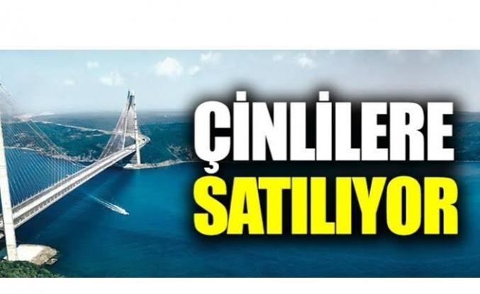 Yavuz Sultan Selim Köprüsü Satılıyor