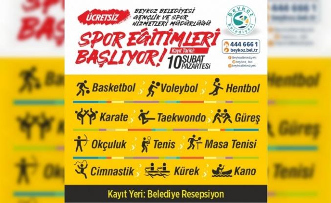 Beykoz'da 11 Branşta Spor Okulları Başlıyor!..