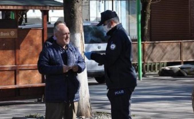 Beykoz'da yasağa uymayan yaşlılara ceza geliyor