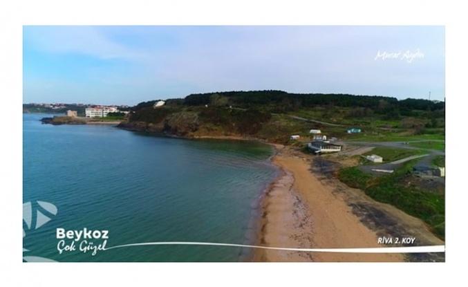 Şu güzelliğe bakın! Burası Riva 2'nci koy plajı