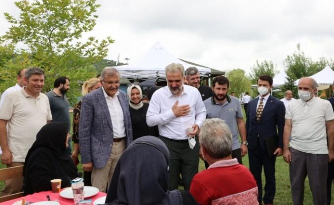 AK Parti İstanbul İl Başkanı Osman Nuri Kabaktepe'den Beykoz'a sürpriz ziyaret