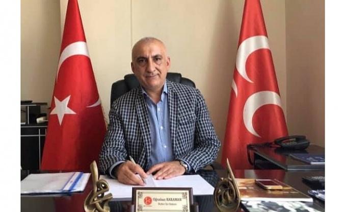 Oğuzhan Karaman'dan Kurban Bayramı Mesajı