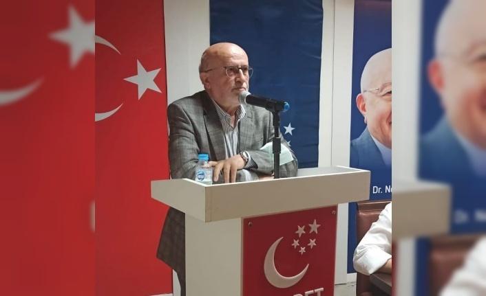 Saadet Partisi Beykoz İlçe Başkanlığı genişletilmiş ilçe divan toplantısı ilçe merkezinde gerçekleştirildi